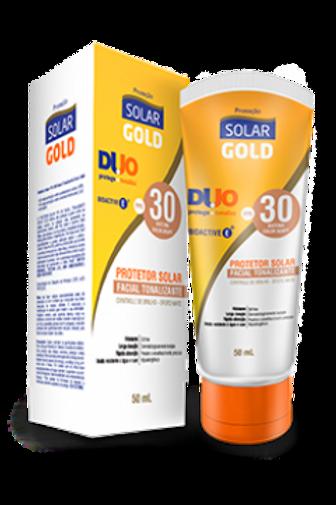 Protetor Solar Gold FPS 30 Facial Tonalizante