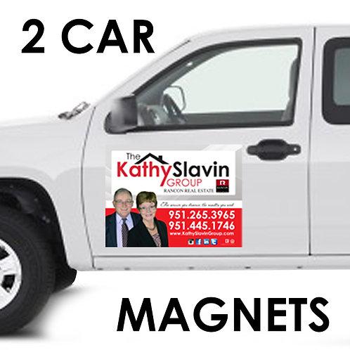 2 Car Magnets