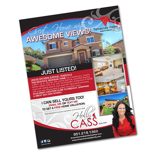 Just Listed/Sold Flyer TEMPLATES