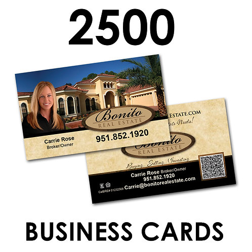 2500 2-Sided Business Cards