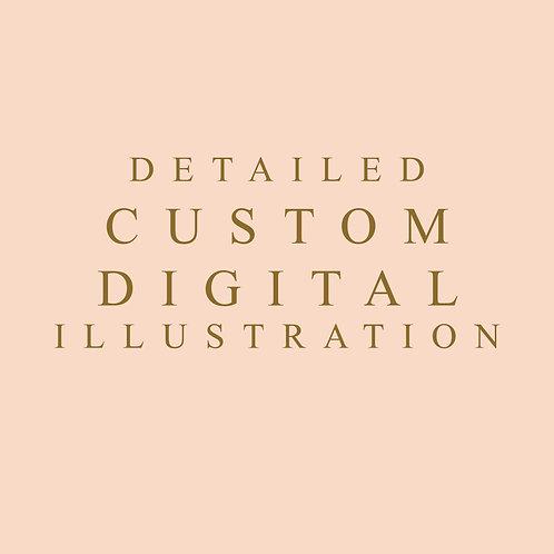 Detailed Custom Digital Illustration