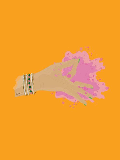 Holi Hands