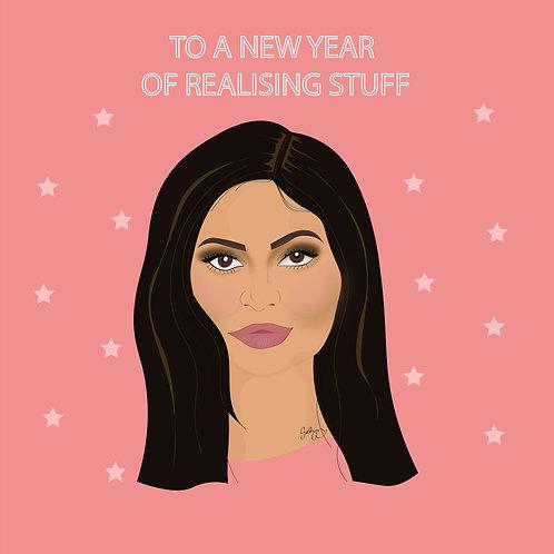 Kylie Realising Stuff