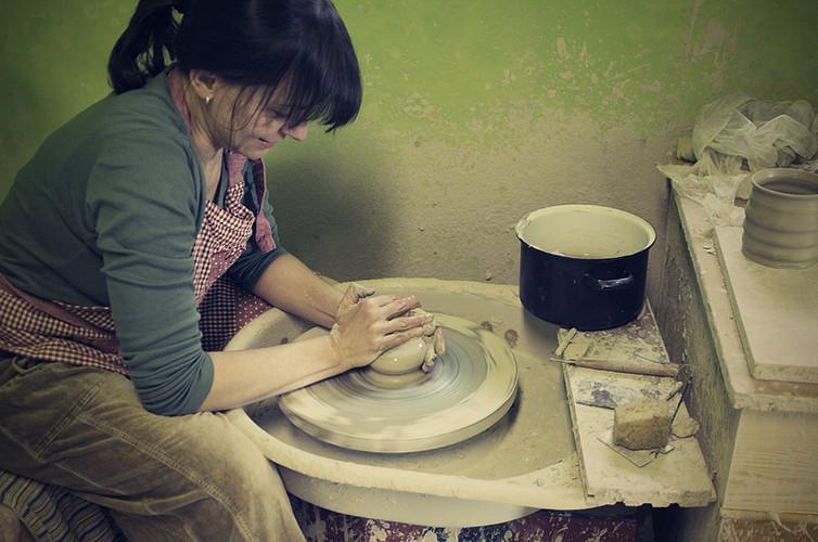 Točení keramiky