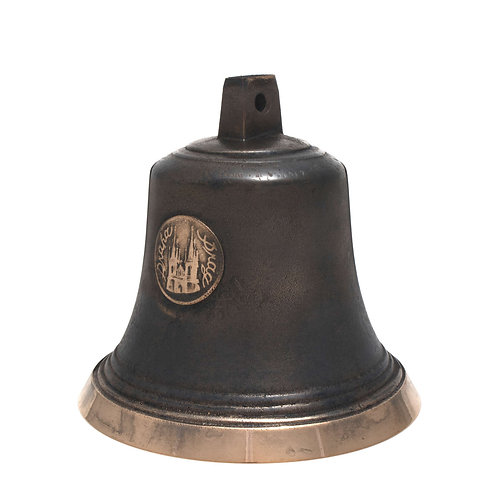 Zvon typ U s reliéfem Prahy