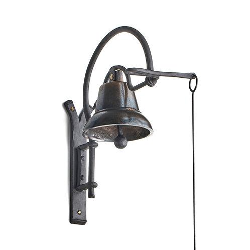 Kovaná zvonice - typ zvonu Y s reliéfem