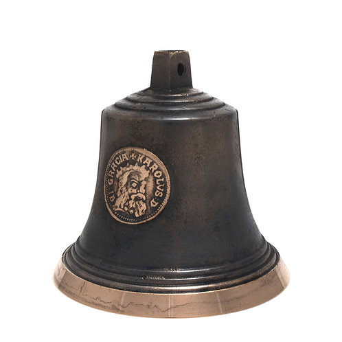 Zvon typ U s reliéfem Karla IV