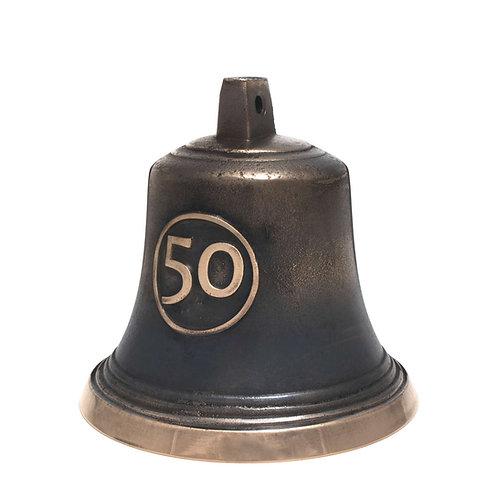 Zvonek typ U s číslovkou 30/40/50/60/70