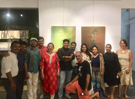 My experience at Auroville Art Camp, 2019