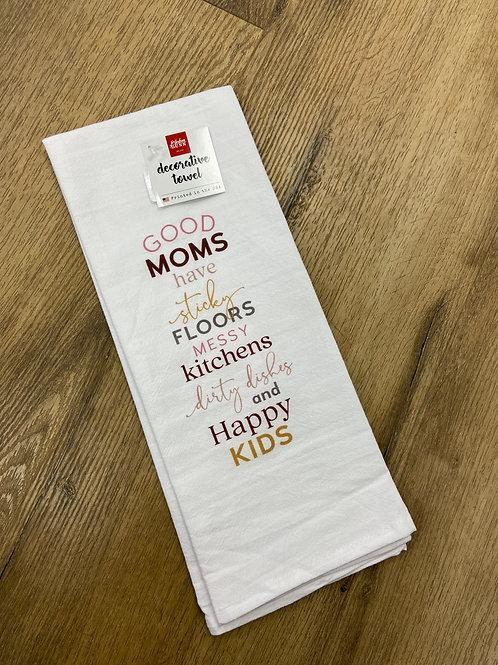 Good Moms Tea Towel