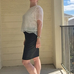 Lace with an Edge: Look of the Week