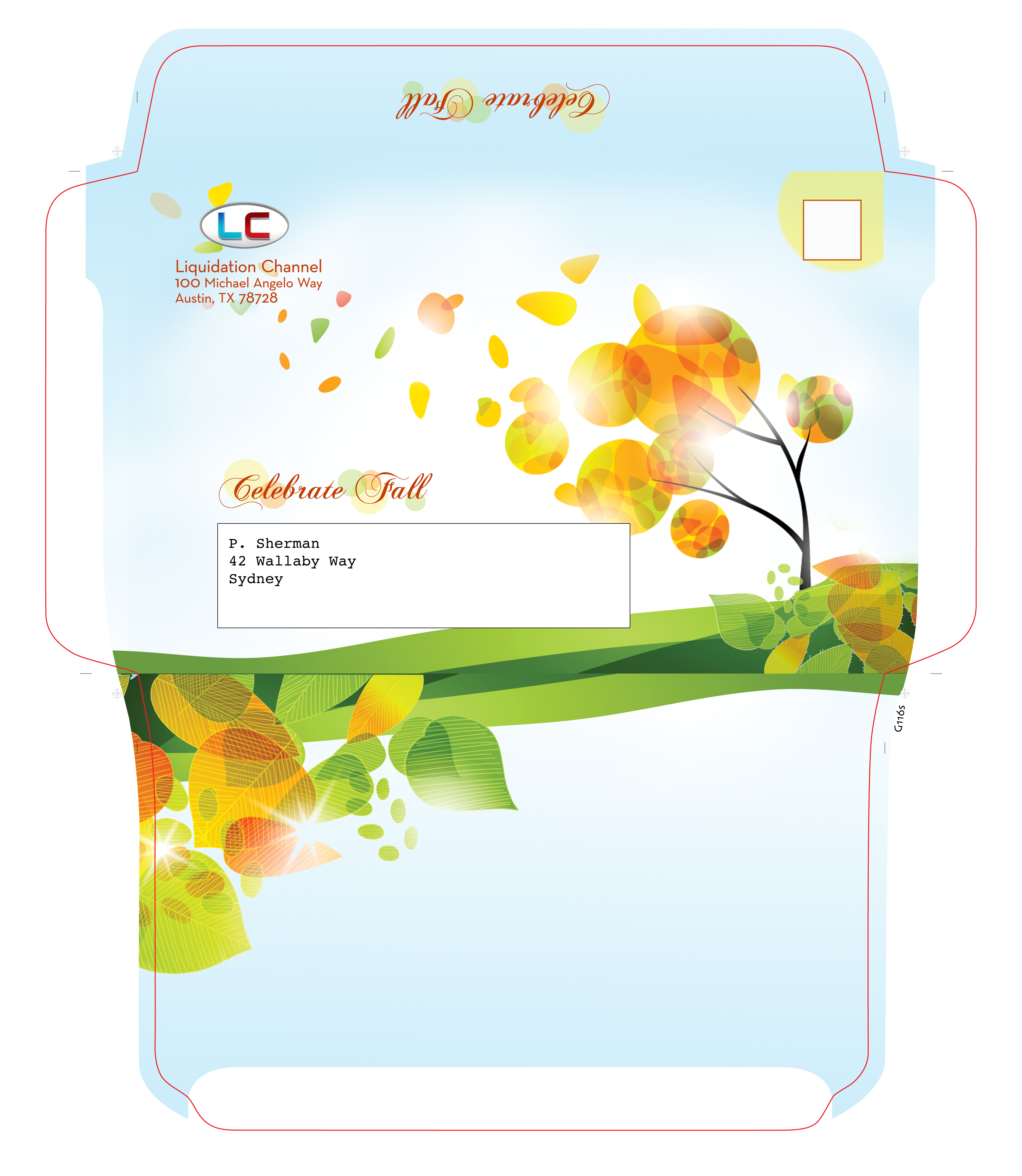 Envelope for Fall Mailing