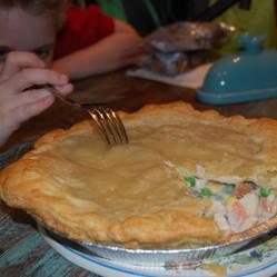 Comfort Food: Mmmm, Chicken Pot Pie