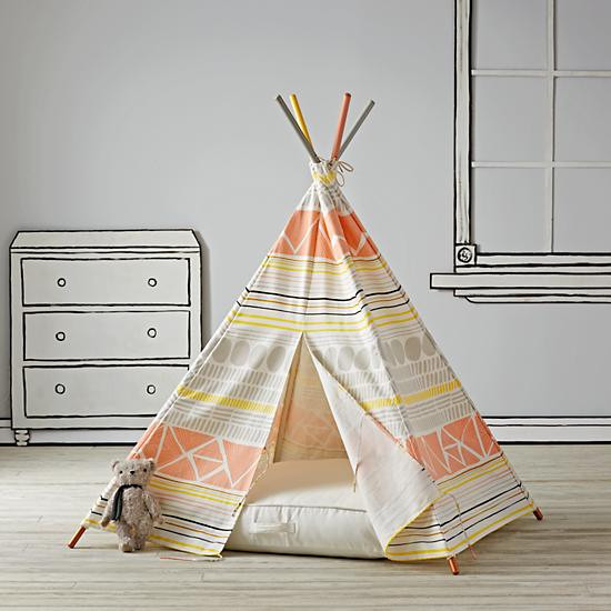 Favorite Things: Anxiety Edition - Teepee from Land of Nod