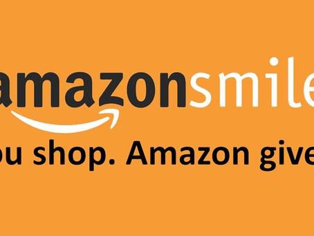 Donating with AmazonSmile!