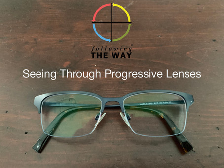 Seeing Through Progressive Lenses
