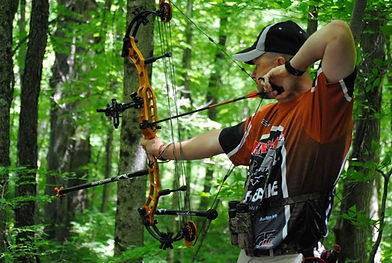 I love to shoot 3-D archery.