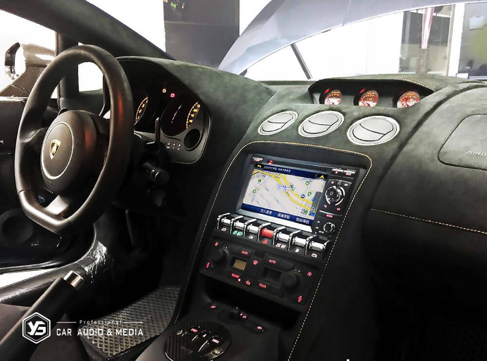 Gallardo智慧型影音安卓機:內建衛星導航功能
