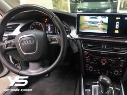 奧迪A4專用倒車顯影