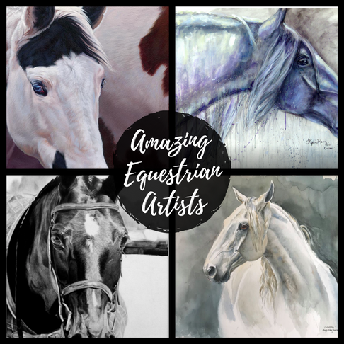 Check Out Our Favorite Equestrian Fine Art Painters