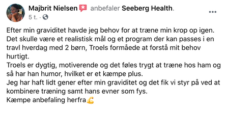 Anmeldelse Seeberg Health
