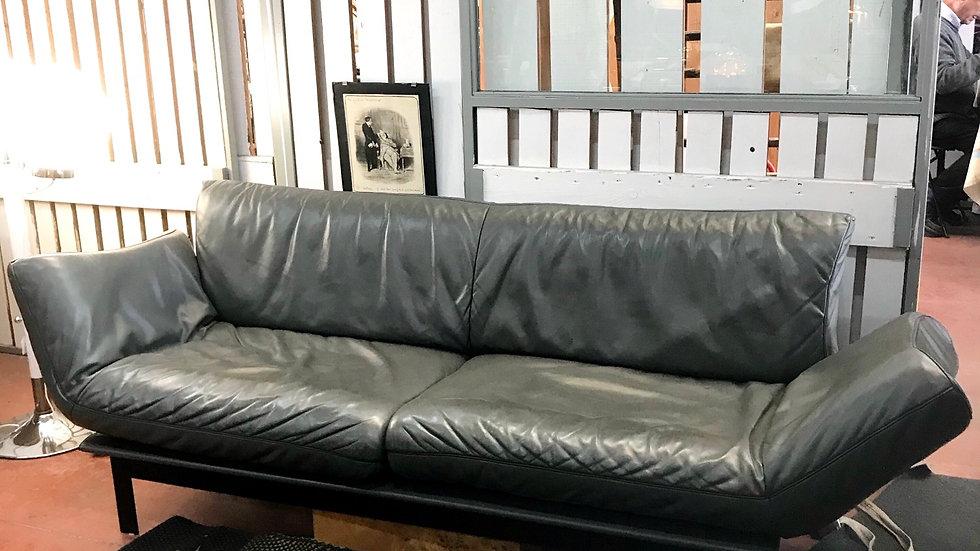 Canapé de Sede en cuir modèle ds140