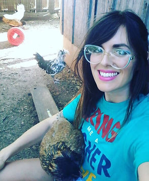 Among the chickens_ my happy place..jpg