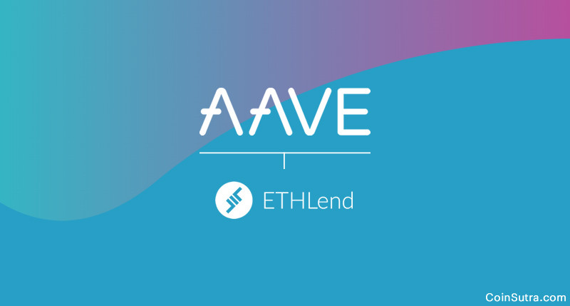 Aave in an open source non-custodial lending protocol