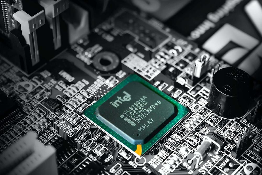 Intel Corporation chip