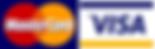 MasterCard and Visa icons