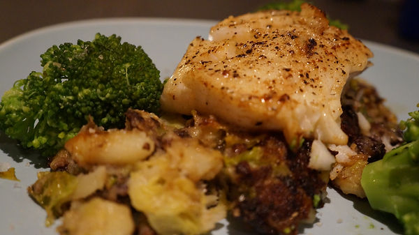 Cod on Black Pudding Bubble.JPG