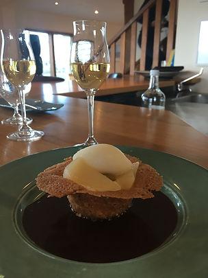 Pear, Amaretto & Hazlenut Tart.jpg