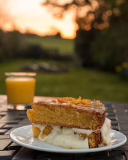 Orange and Polenta Gluten Free Cake
