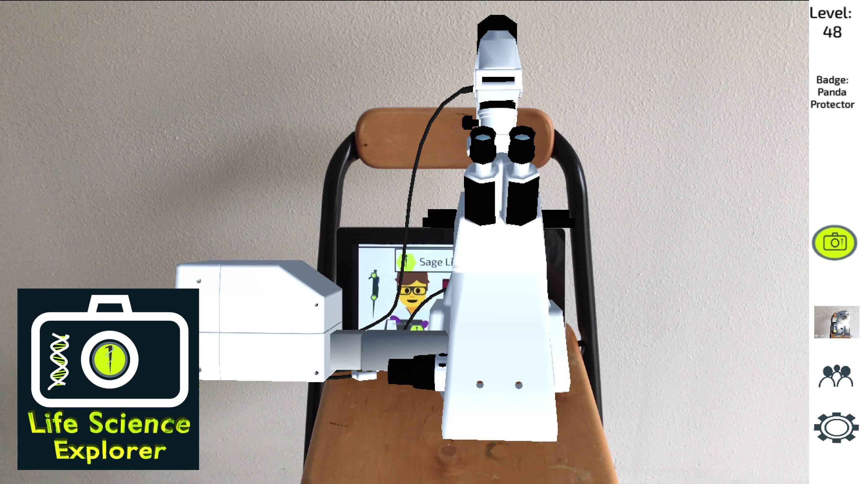microscopeiOS5