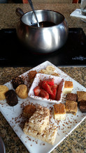 Chocolate Fondue for DineLA