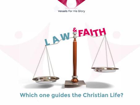 LAW AND FAITH.....
