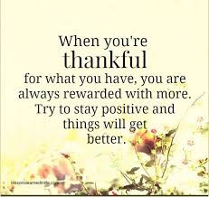 How Thankful Are You