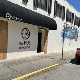 My art home- the Hub on Canal.