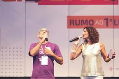 Luah Galvão Apresentadora Convenção Alvaro