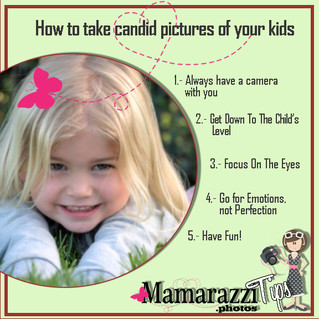 How to take candid photos of your kids