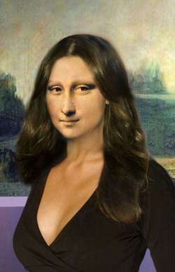 Mona Lisa Photoshop