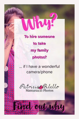 Why to hire someone to take your family pictures?