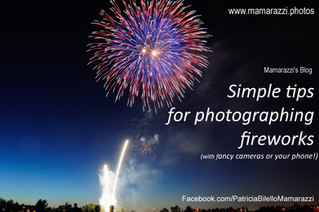 Simple tips for photographing fireworks