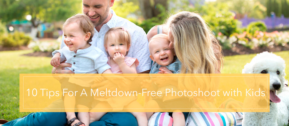 10 Tips for a Meltdown-Free Photoshoot with Kids
