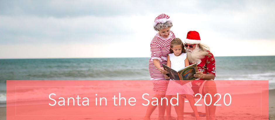 Santa in the Sand!
