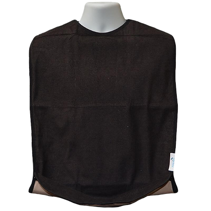 סינר שחור רב-פעמי עם כיס