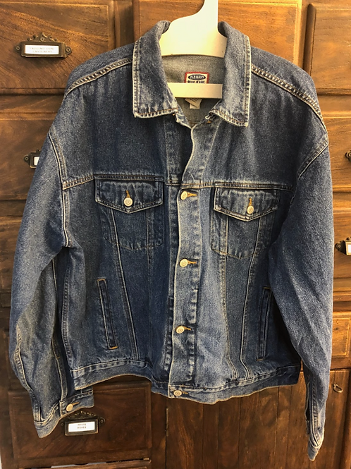 XL Custom Denim Jacket