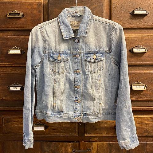 Large Vintage Fit Custom Denim Jacket (B)
