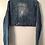 Thumbnail: Large Custom Cropped Lightweight Denim Jacket