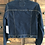 Thumbnail: Small Custom Dark Denim Jacket